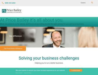 pricebailey.co.uk screenshot