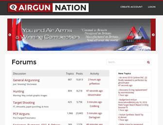 airgunnation.com screenshot