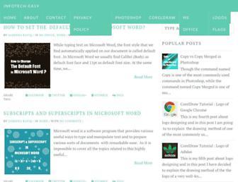 infotech-easy.blogspot.com screenshot
