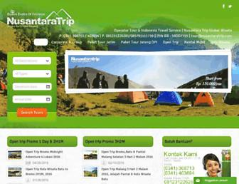 nusantaratrip.com screenshot