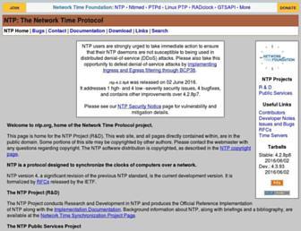 Thumbshot of Ntp.org