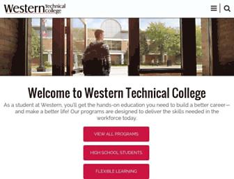 Thumbshot of Westerntc.edu