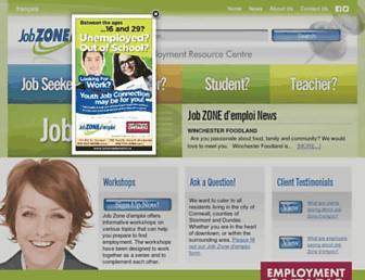 jobzonedemploi.ca screenshot