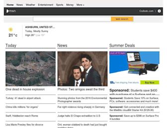 Fullscreen thumbnail of msn.ca