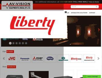 av-visionindia.co.in screenshot