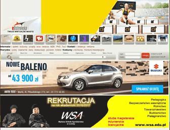 Main page screenshot of eostroleka.pl