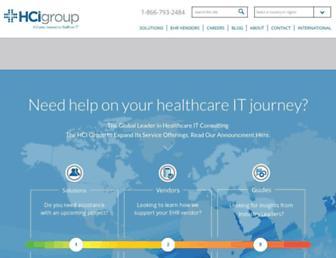 thehcigroup.com screenshot