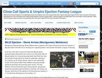 closecallsports.com screenshot