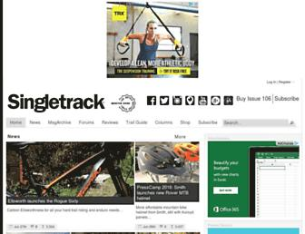 singletrackworld.com screenshot
