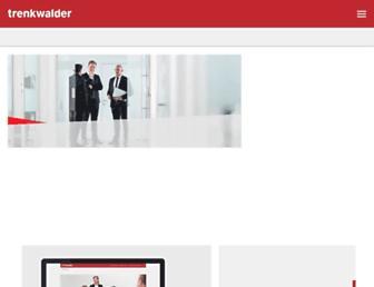 Thumbshot of Trenkwalder.com