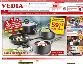 vedia.ch screenshot