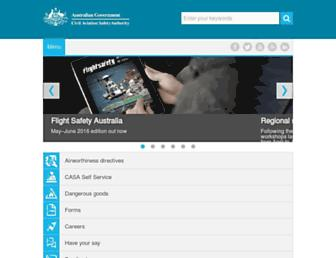 casa.gov.au screenshot