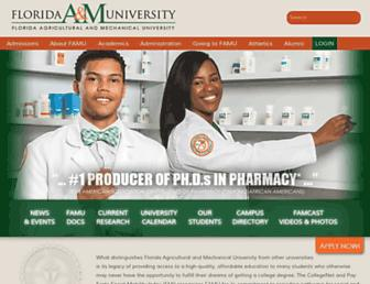 Thumbshot of Famu.edu