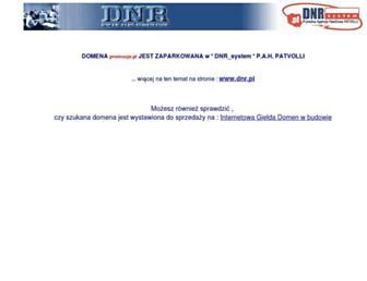 Main page screenshot of promocje.pl