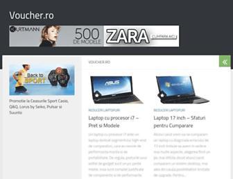 voucher.ro screenshot