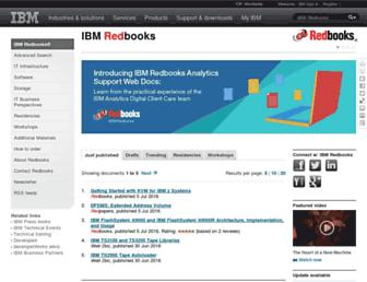 redbooks.ibm.com screenshot