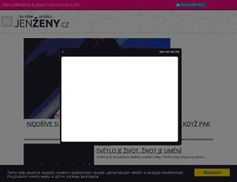 Thumbshot of Jenzeny.cz