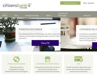 Thumbshot of Citizensbank.ca