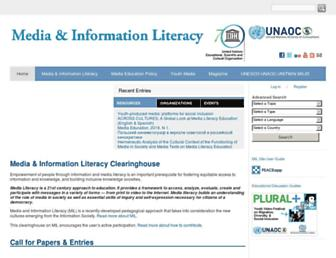 milunesco.unaoc.org screenshot