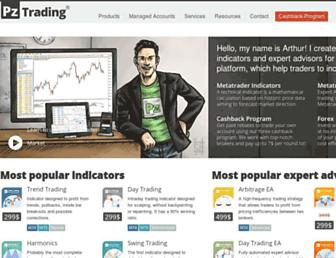 pointzero-trading.com screenshot