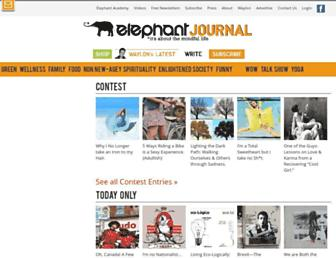 Thumbshot of Elephantjournal.com