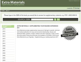 extras.springer.com screenshot
