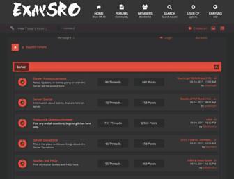 forum.exaysro.com screenshot