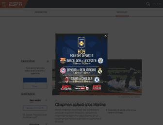 espn.com.ve screenshot