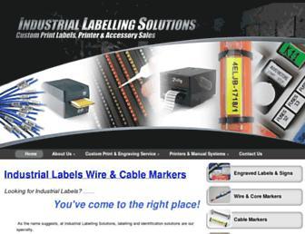 industriallabelling.com.au screenshot