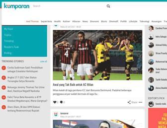 kumparan.com screenshot