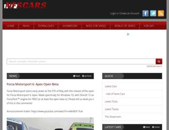 nfscars.net screenshot