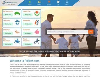 policyx.com screenshot