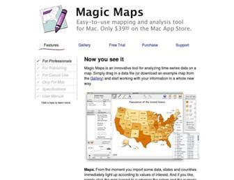 magicmaps.evanmiller.org screenshot