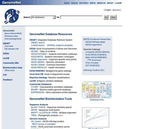 genome.jp screenshot