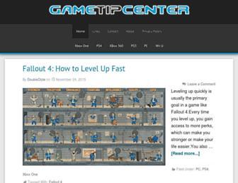 gametipcenter.com screenshot