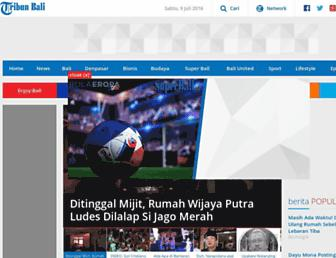 bali.tribunnews.com screenshot