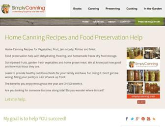 Thumbshot of Simplycanning.com