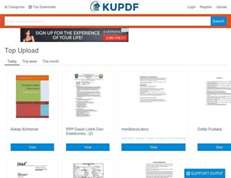 kupdf.net screenshot