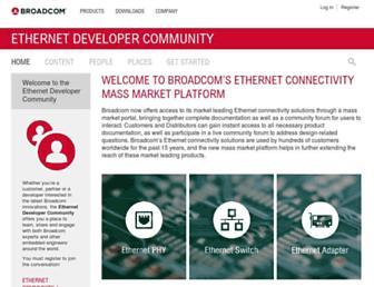 community.broadcom.com screenshot