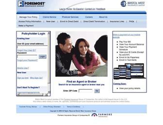 bristolwest.com screenshot