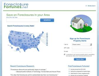 Thumbshot of Foreclosurefortunes.net