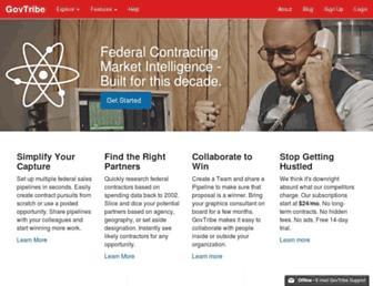 govtribe.com screenshot