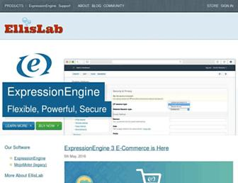 ellislab.com screenshot