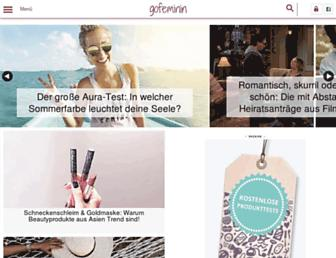 Thumbshot of Gofeminin.de