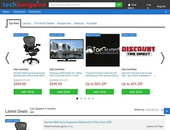 Thumbshot of Techbargains.com