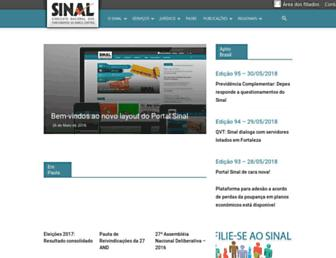 Thumbshot of Sinal.org.br