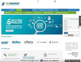 techmagnate.com screenshot