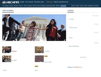 Thumbshot of Nbcnews.com