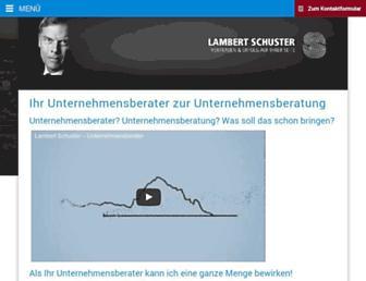 lambertschuster.de screenshot