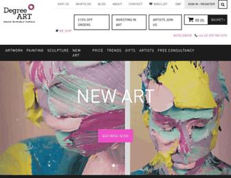 degreeart.com screenshot